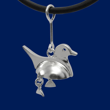 Long-tailed duck, big pendant