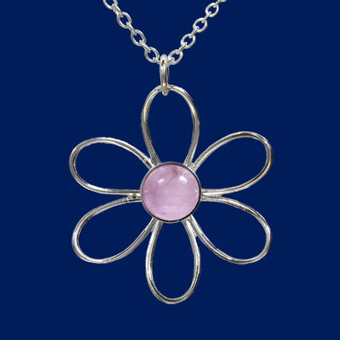 TaigaFlower, big pendant