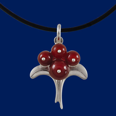Lingonberry-jewelry-silver