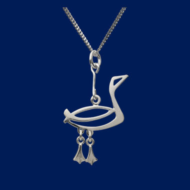 The Loon, small pendant