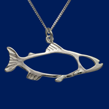 The Salmon, pendant