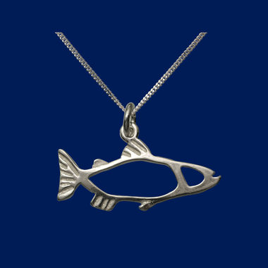 The Salmon, small pendant