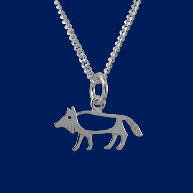 The Wolf, small pendant