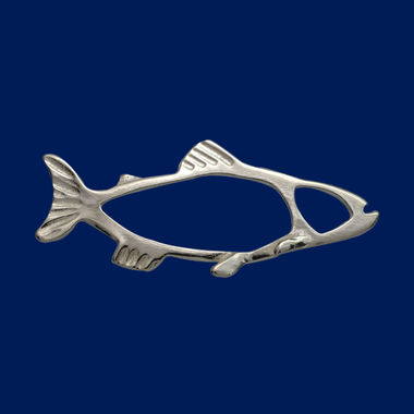 The Salmon, brooch