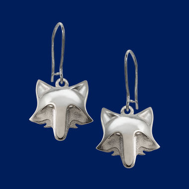 Fox, earrings