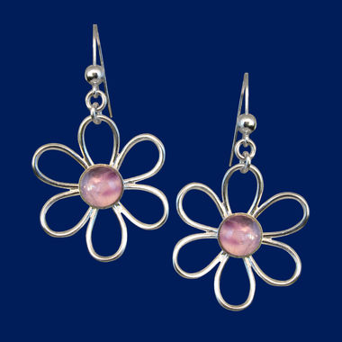 TaigaFlower, earrings (hook)