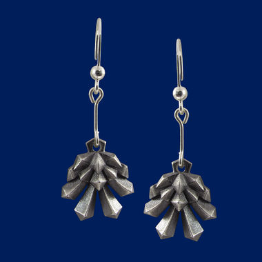 Pine cone, earrings