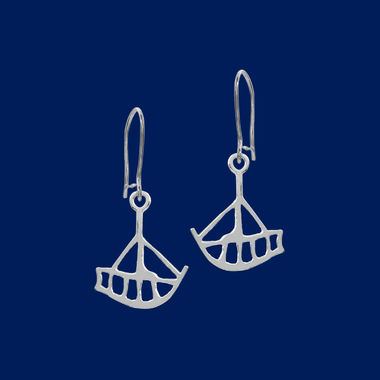 The Boat, earrings small