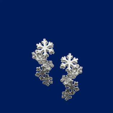First snow, earrings