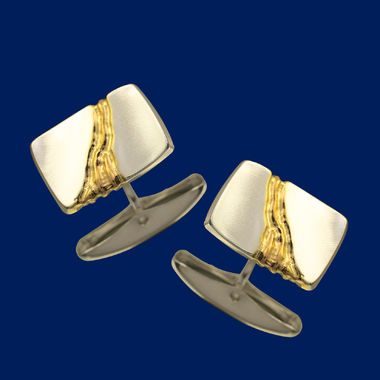 The Gold Stream, cufflinks