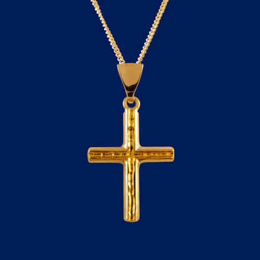 The Gold Stream, Cross pendant, gold