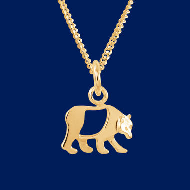 Golden-bear-pendant