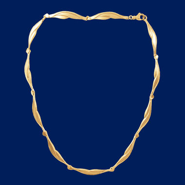 The Fell, necklace, gold