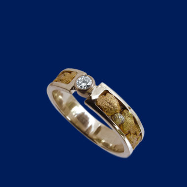 Goldnugget-ring