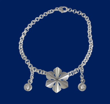 Snowqueen, silver armband