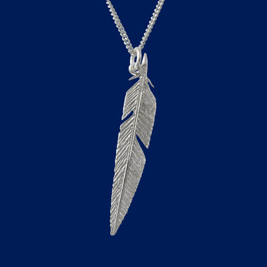 Feather, pendant