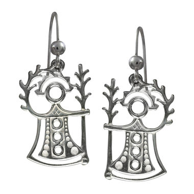 """Akka"", The Goddess of Fertility, earrings"