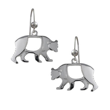 Bear, earrings