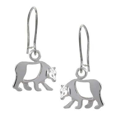 Bear, earrings, small