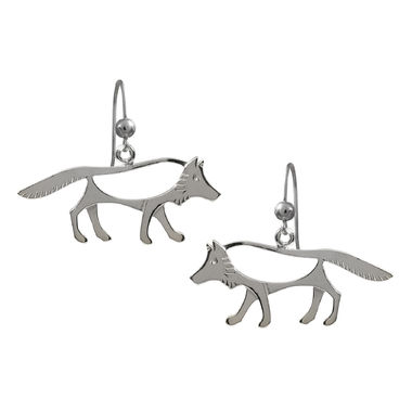 The Wolf, earrings