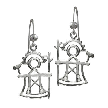 The God of Thunder, earrings