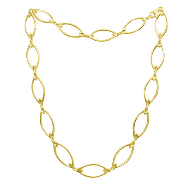 Earmark, necklace middle, gold