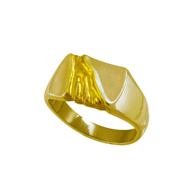 The Gold Stream, Man's sealring, gold