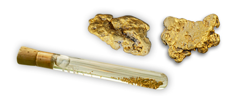 Gold nugget products